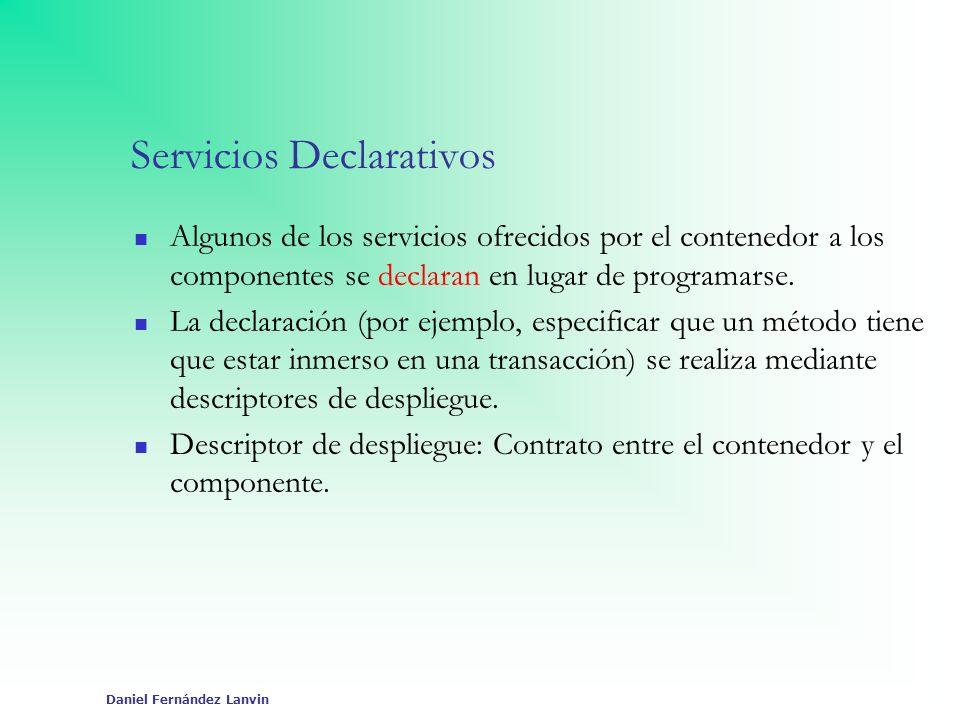 Servicios Declarativos