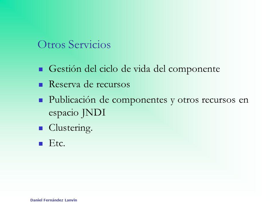 Otros Servicios Gestión del ciclo de vida del componente