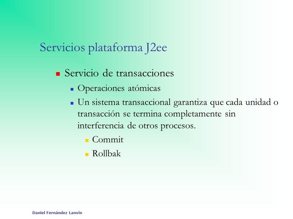Servicios plataforma J2ee