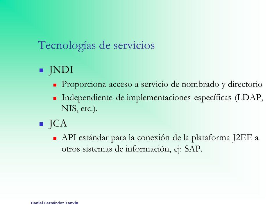 Tecnologías de servicios