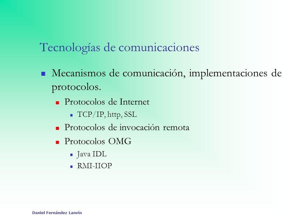 Tecnologías de comunicaciones