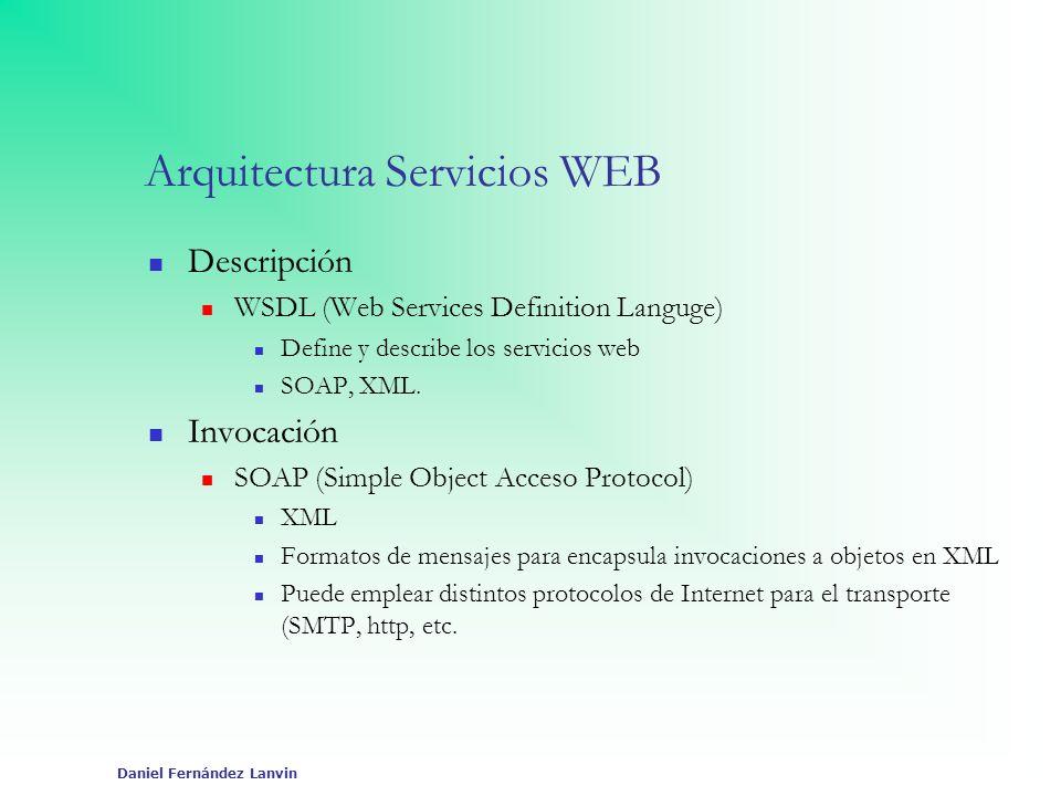 Arquitectura Servicios WEB