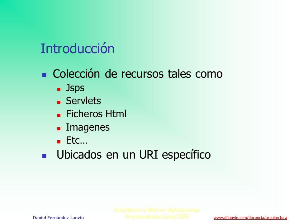 Arquitectura Web en Aplicaciones Empresariales Java/J2EE