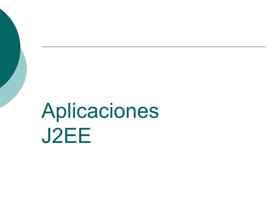 Aplicaciones J2EE