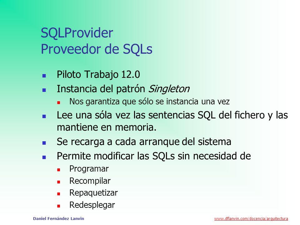 SQLProvider Proveedor de SQLs