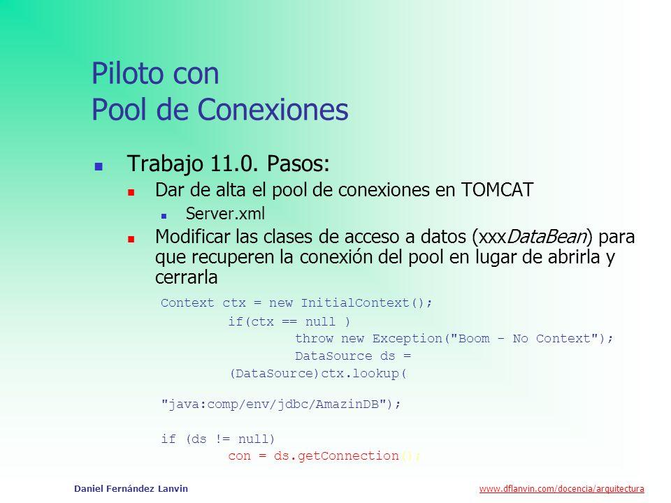 Piloto con Pool de Conexiones
