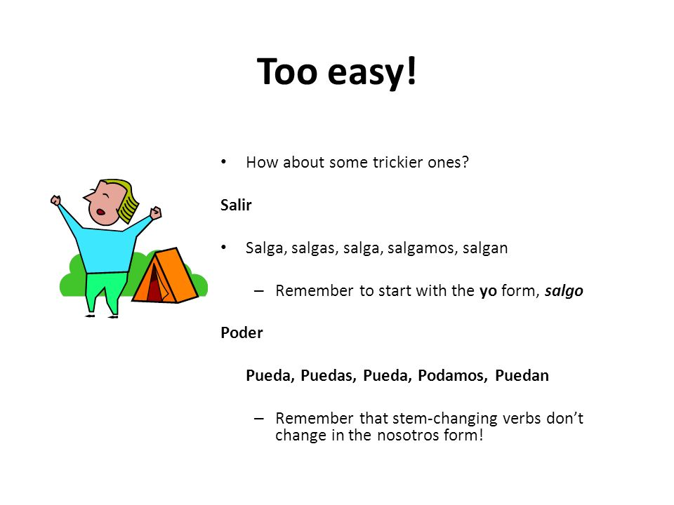 Too easy! How about some trickier ones Salir