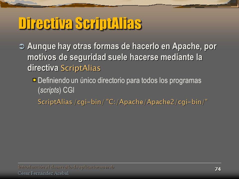 Directiva ScriptAlias