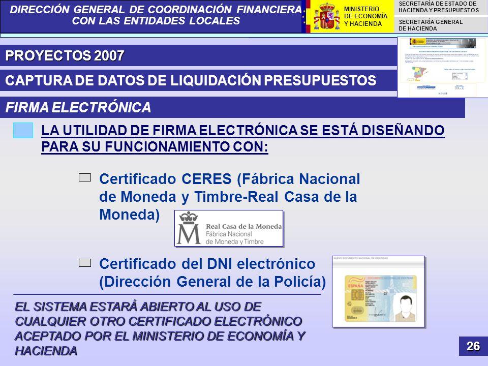 Certificado del DNI electrónico (Dirección General de la Policía)