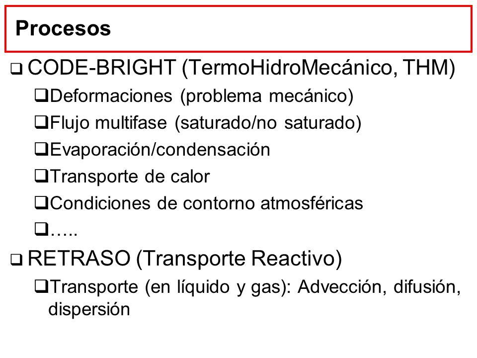 CODE-BRIGHT (TermoHidroMecánico, THM)