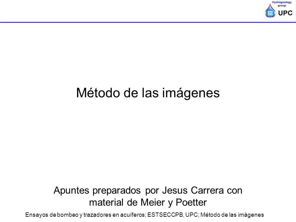 Apuntes preparados por Jesus Carrera con material de Meier y Poetter