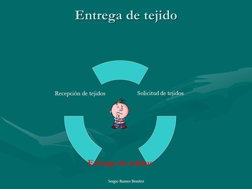 Entrega de tejido Sergio Ramos Benitez