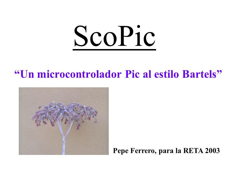 Un microcontrolador Pic al estilo Bartels
