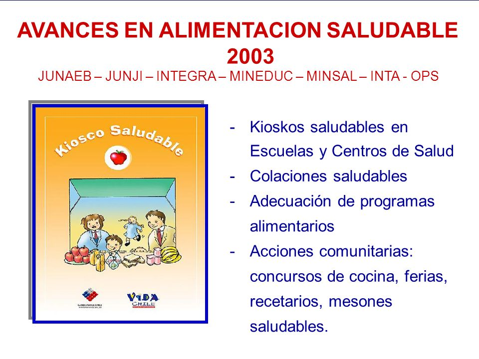 AVANCES EN ALIMENTACION SALUDABLE 2003