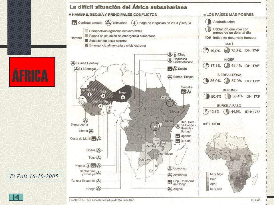 ÁFRICA El País 16-10-2005