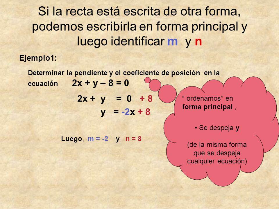 (de la misma forma que se despeja cualquier ecuación)