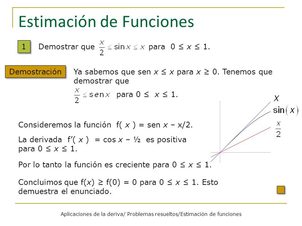 Estimación de Funciones