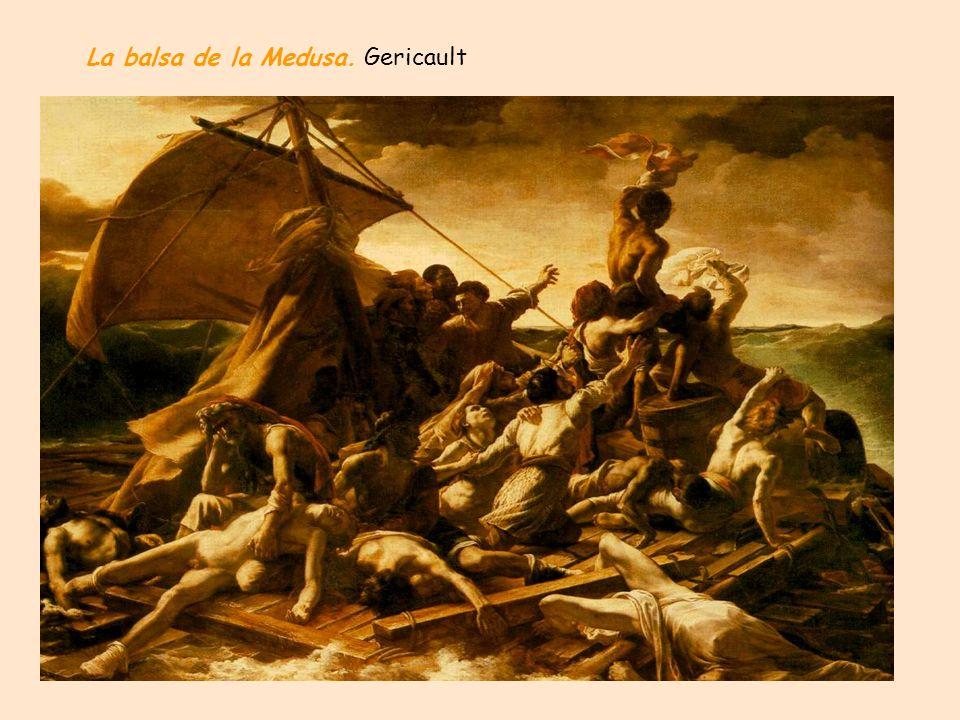 La balsa de la Medusa. Gericault