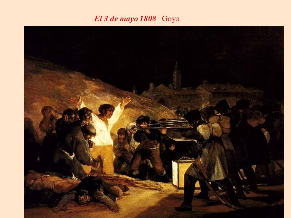 El 3 de mayo 1808 Goya