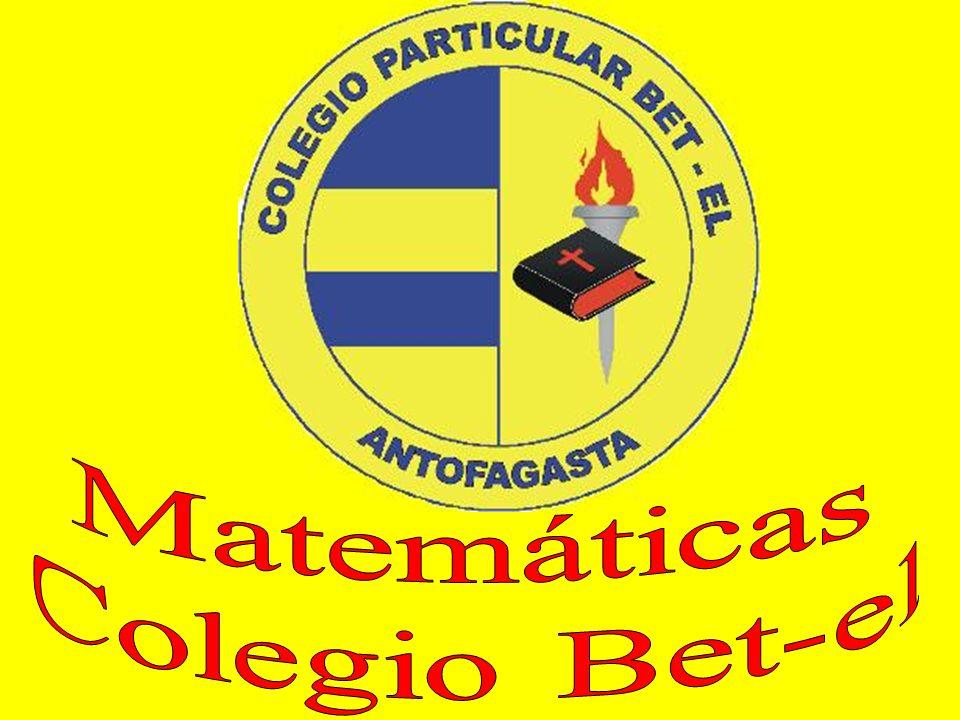 Matemáticas Colegio Bet-el