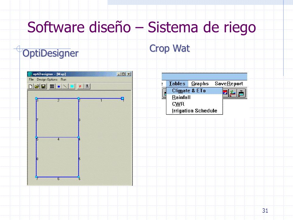 Software diseño – Sistema de riego