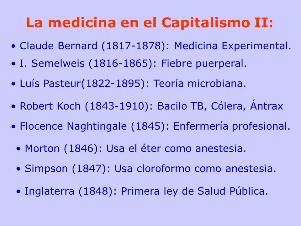 La medicina en el Capitalismo II: