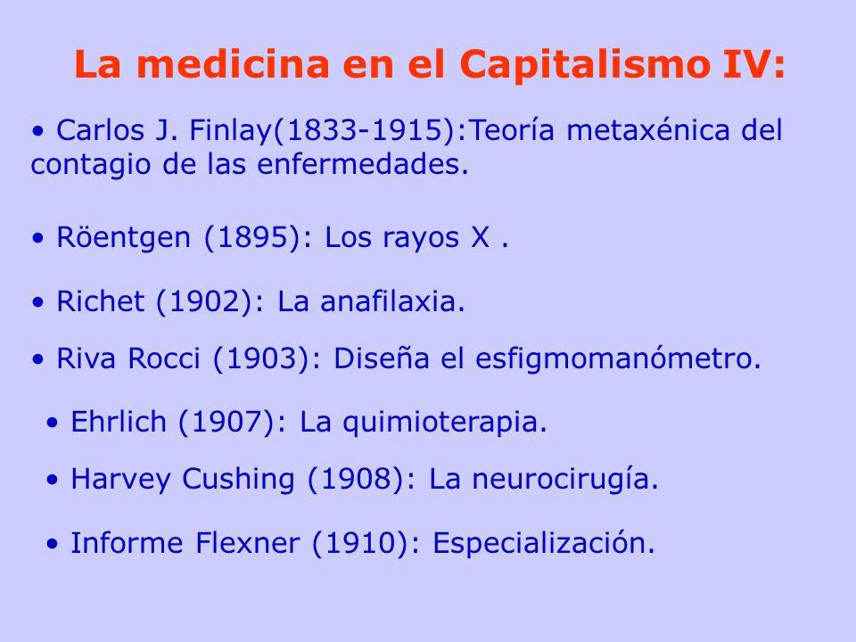 La medicina en el Capitalismo IV: