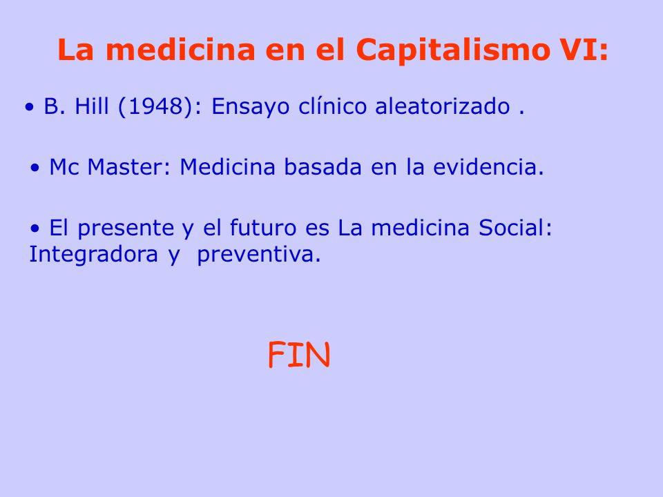 FIN La medicina en el Capitalismo VI: