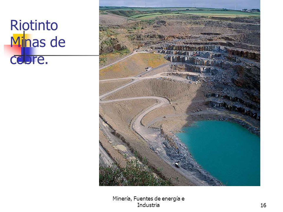 Riotinto Minas de cobre.