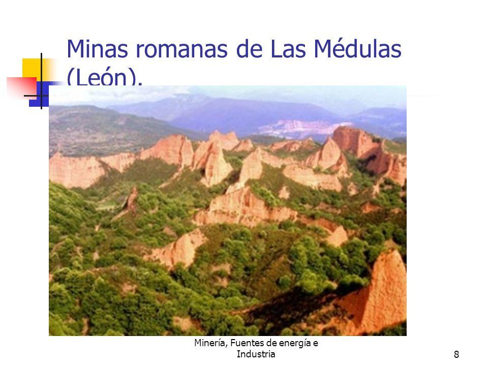 Minas romanas de Las Médulas (León).