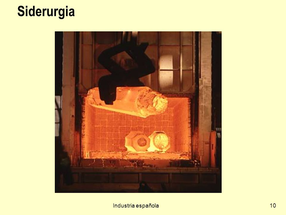 Siderurgia Industria española