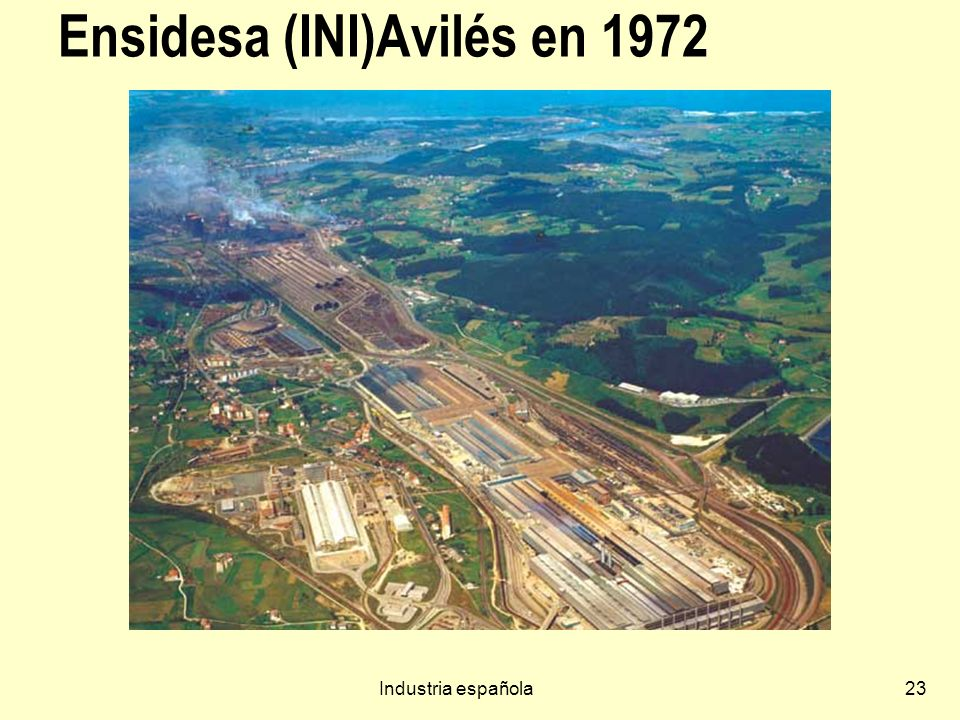 Ensidesa (INI)Avilés en 1972