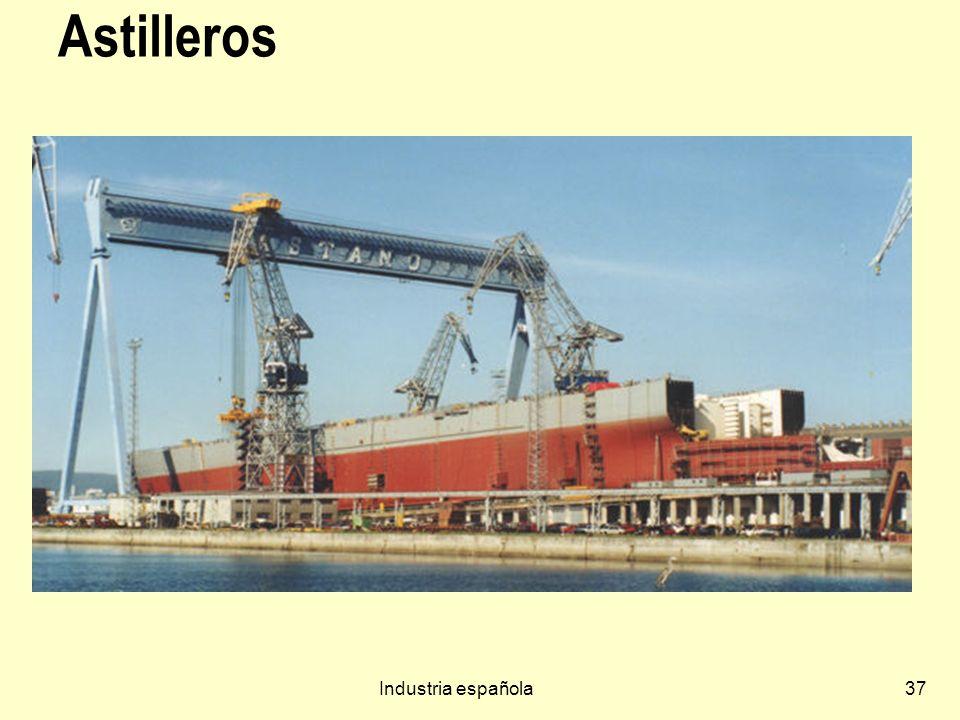 Astilleros Industria española