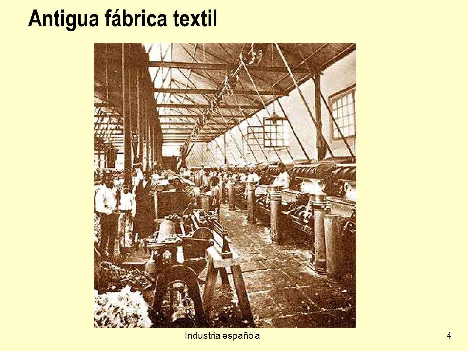 Antigua fábrica textil