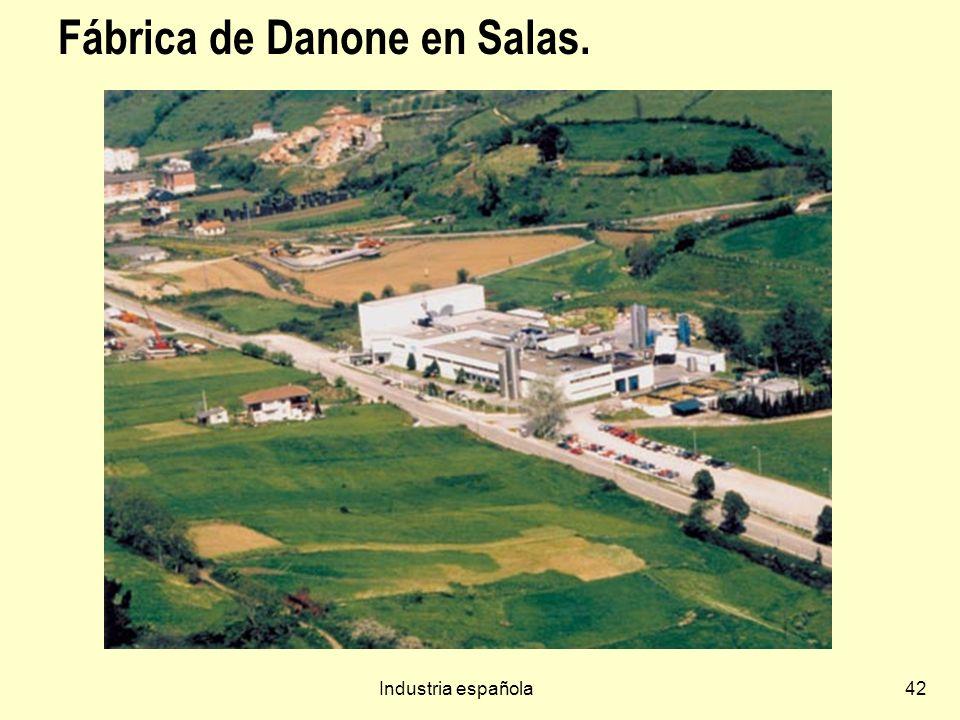 Fábrica de Danone en Salas.