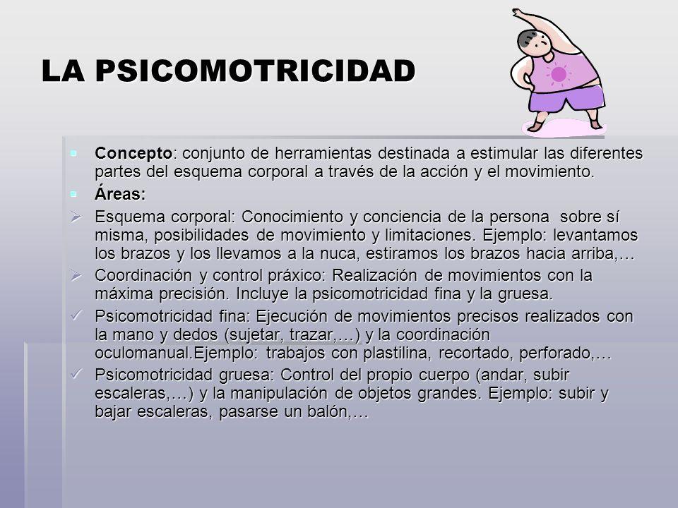 LA PSICOMOTRICIDAD