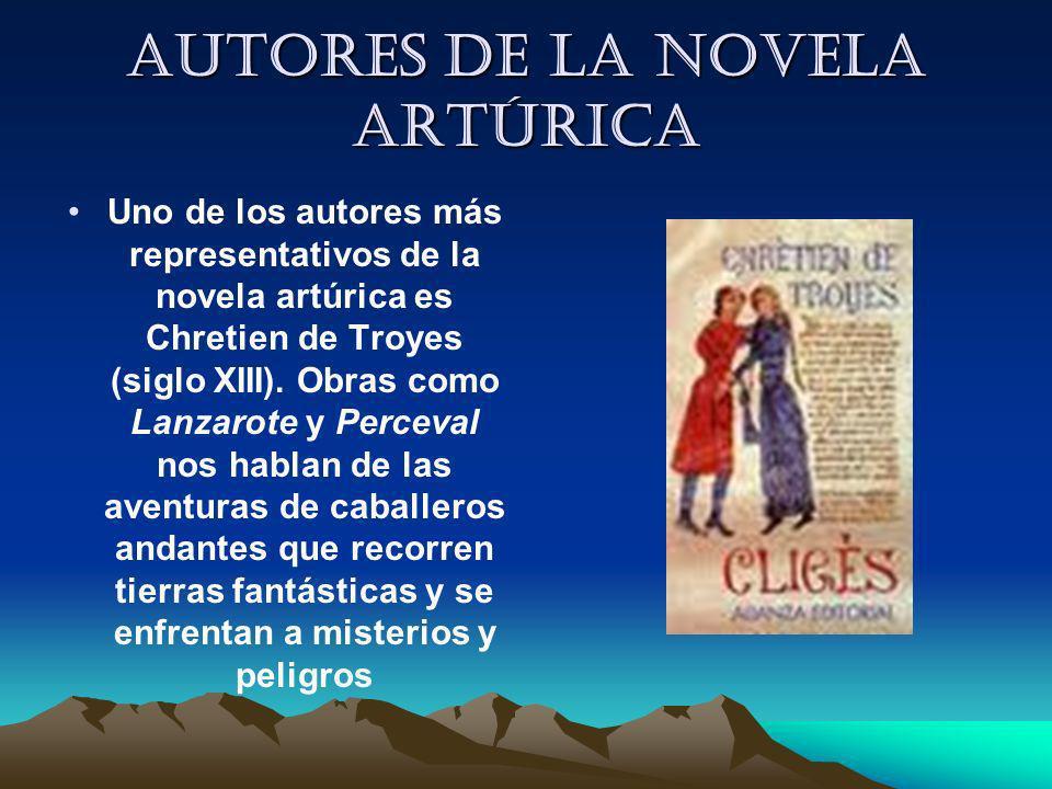 Autores de la novela artúrica