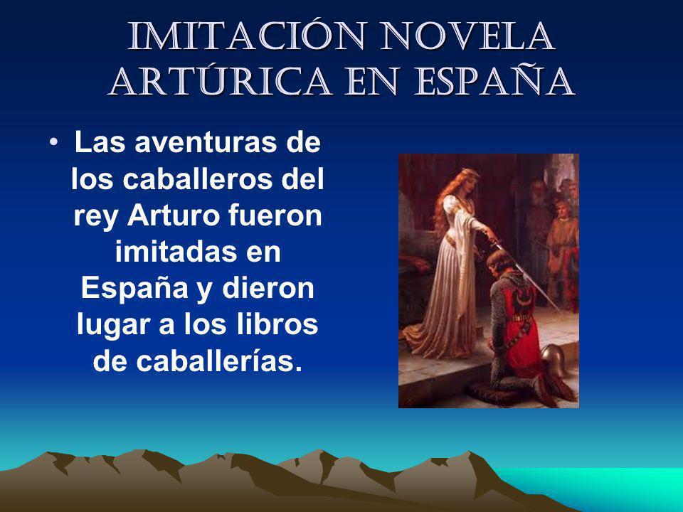 Imitación novela artúrica en España