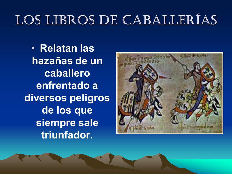 Los libros de caballerías