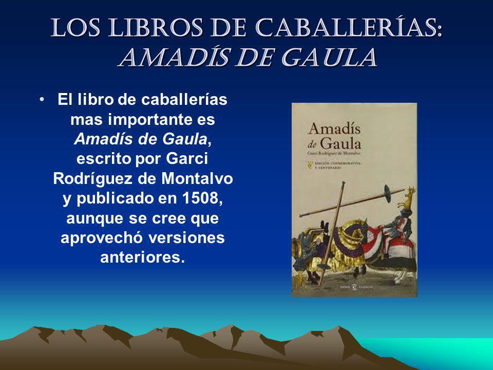 Los libros de caballerías: Amadís de Gaula