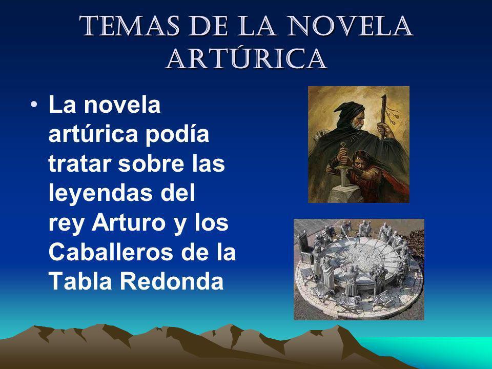 Temas de la novela artúrica