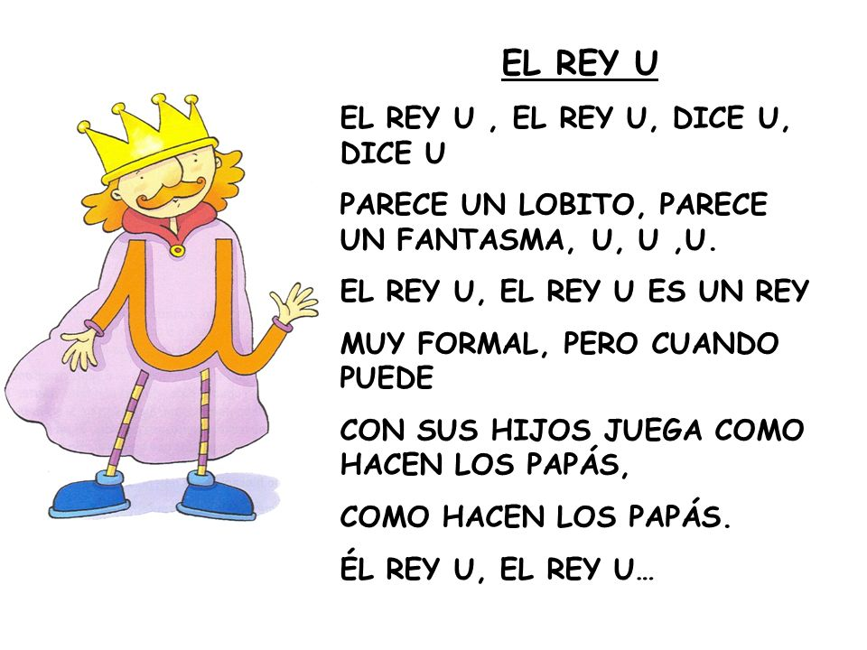 EL REY U EL REY U , EL REY U, DICE U, DICE U