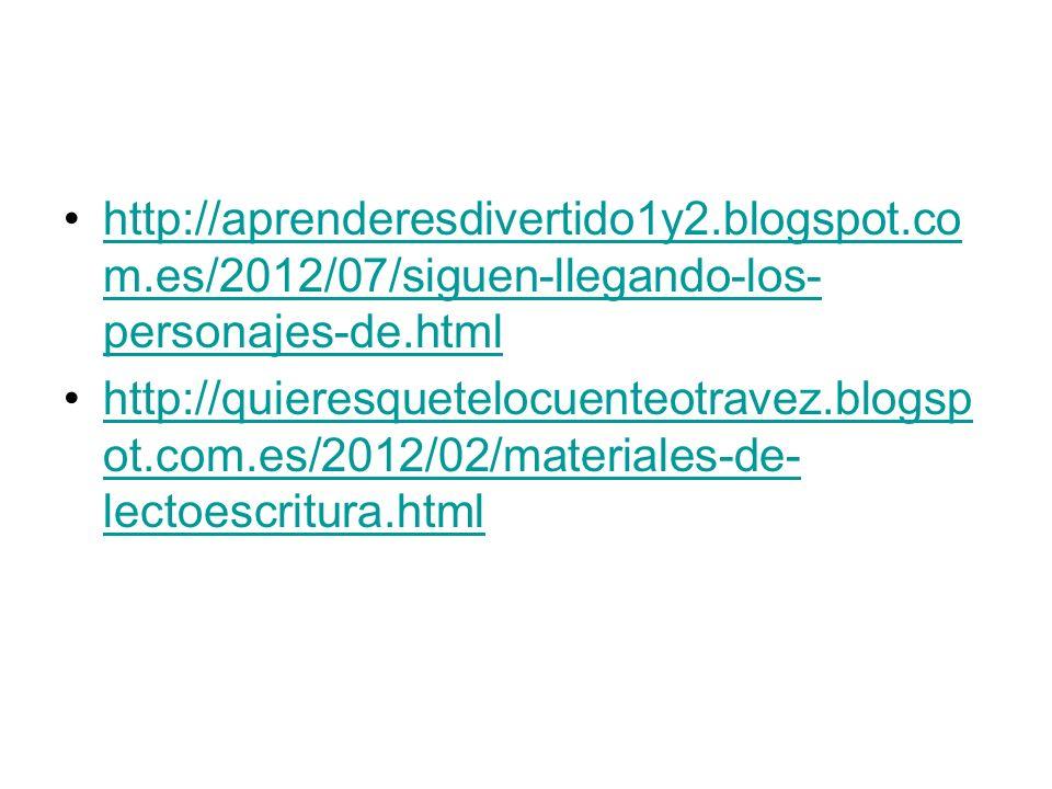 http://aprenderesdivertido1y2. blogspot. com