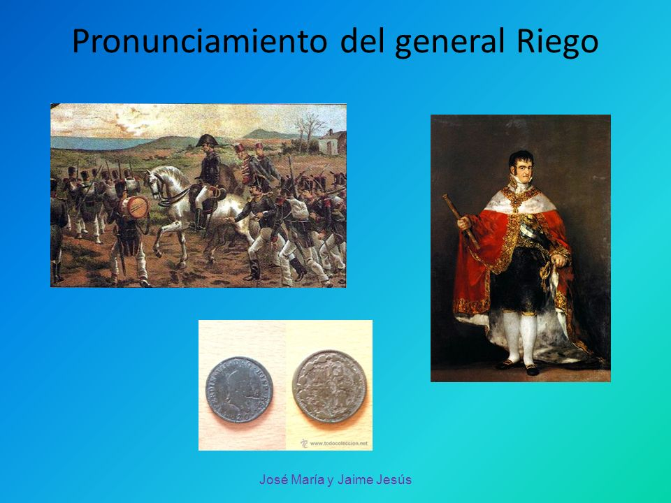 Pronunciamiento del general Riego