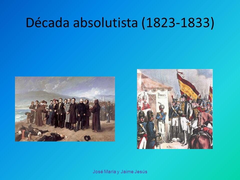 Década absolutista (1823-1833)