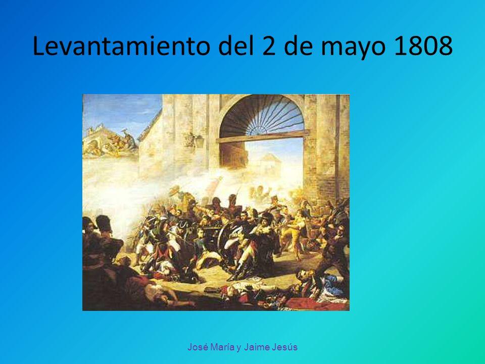 Levantamiento del 2 de mayo 1808