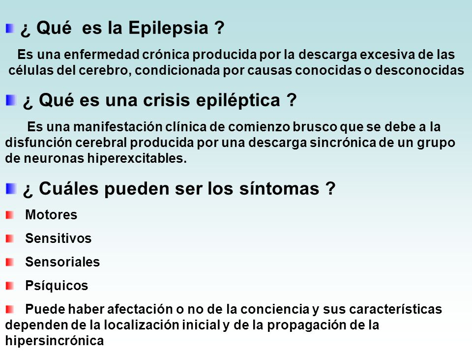 ¿ Qué es una crisis epiléptica
