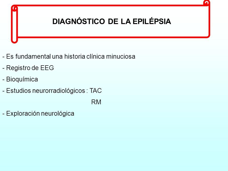 DIAGNÓSTICO DE LA EPILÉPSIA