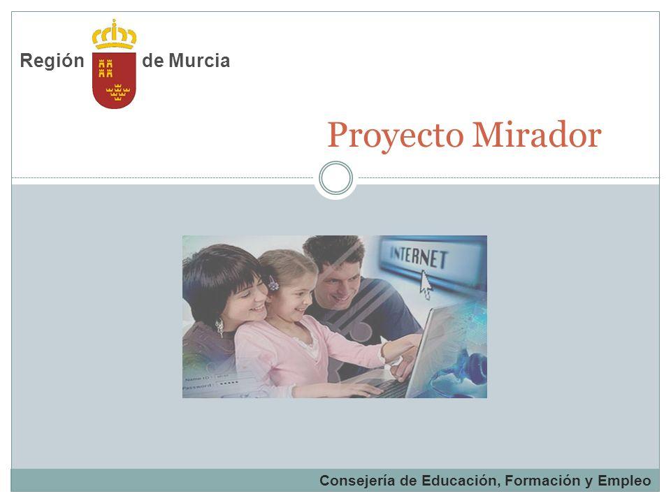 Proyecto Mirador de Murcia Región