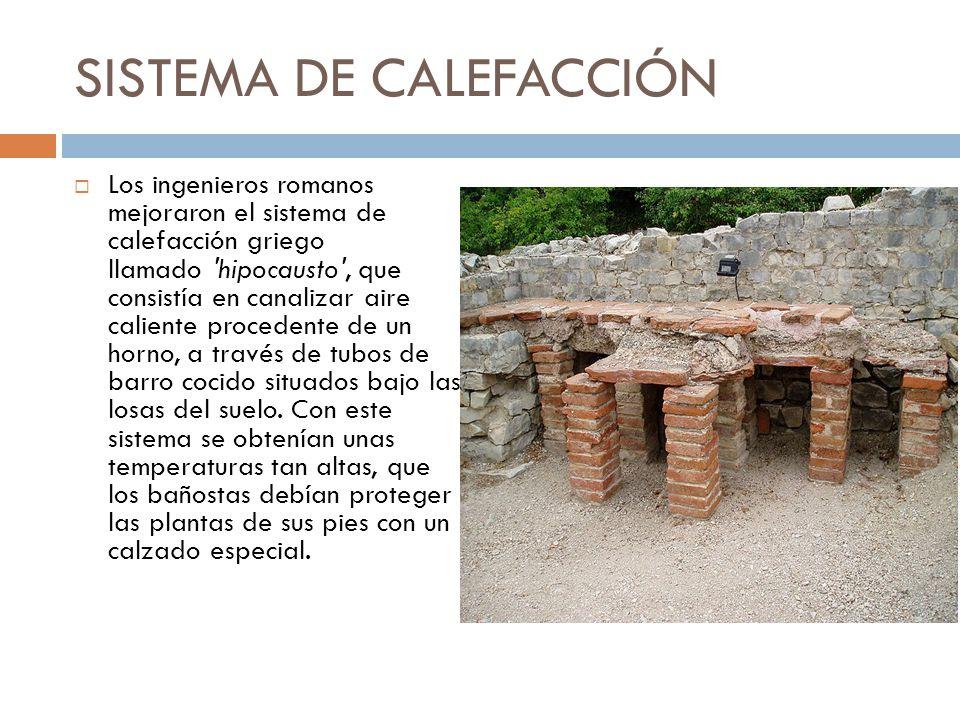 El urbanismo romano ppt video online descargar - Sistema de calefaccion central ...